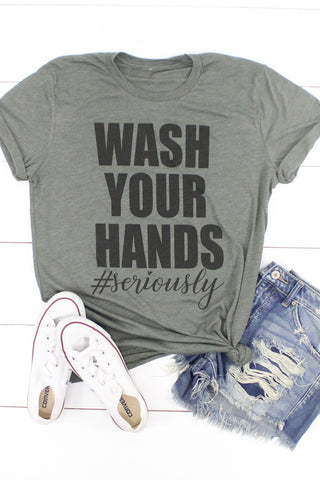 Wash Your Hands #Seriously