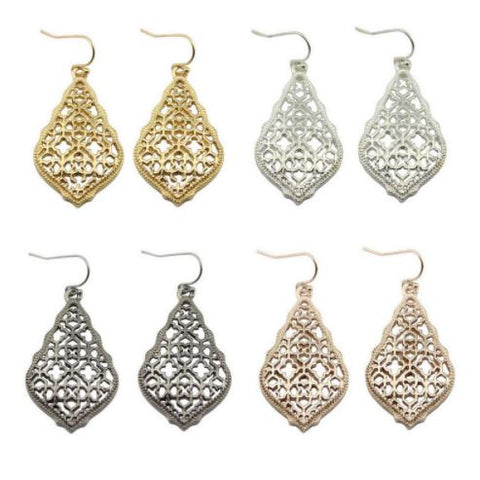 Heart Throb Earrings - Glittering Boutique