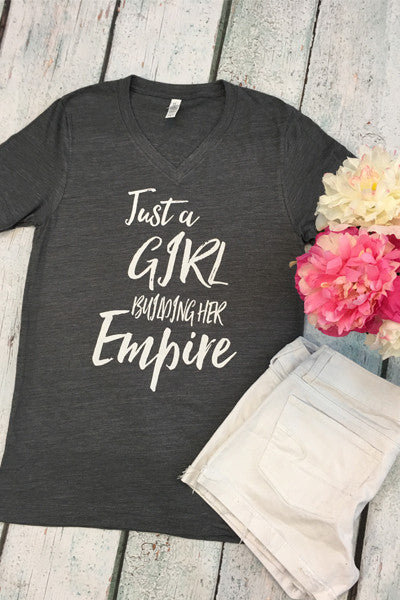 Just A Girl Building Her Empire - Glittering Boutique