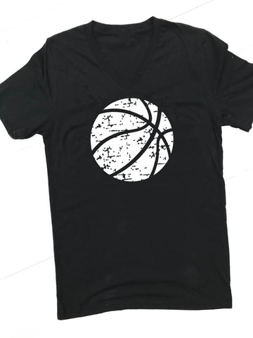Basketball V Neck - Glittering Boutique