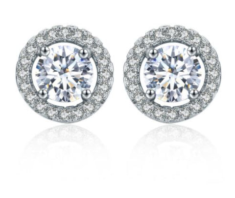Elegant Stud Earrings - Glittering Boutique