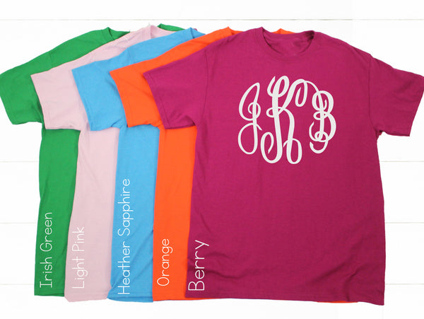 9.99 Tees!! Youth and Adult! 41 Colors! - Glittering Boutique