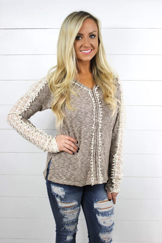 Paisley Embellished Top - Glittering Boutique