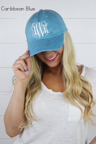 Personalized Hats | 35 Colors Available! - Glittering Boutique
