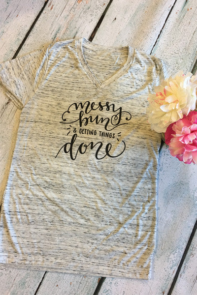 Messy Bun & Getting Things Done - Glittering Boutique