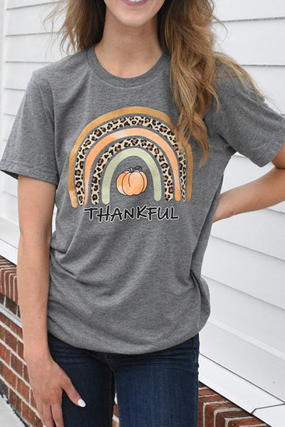 Thankful Rainbow Tee