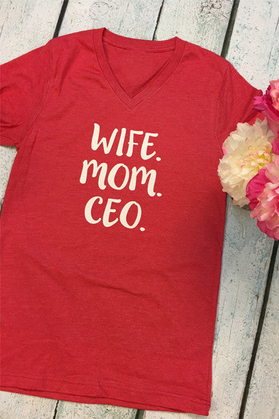 Wife. Mom. Ceo. - Glittering Boutique