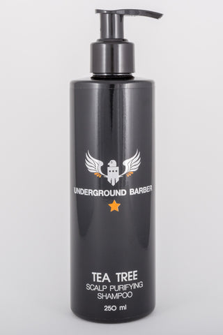 Tea Tree Shampoo UNDERGROUND BARBER