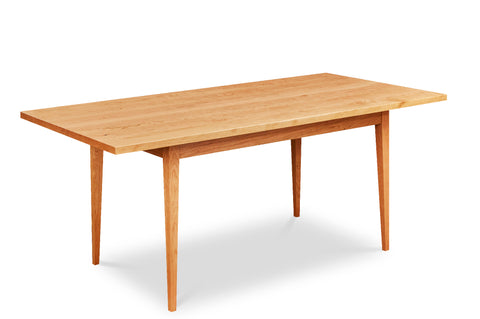 Shaker Heirloom Table with large overhangs in solid cherry