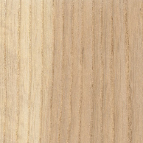 Natural ash wood sample