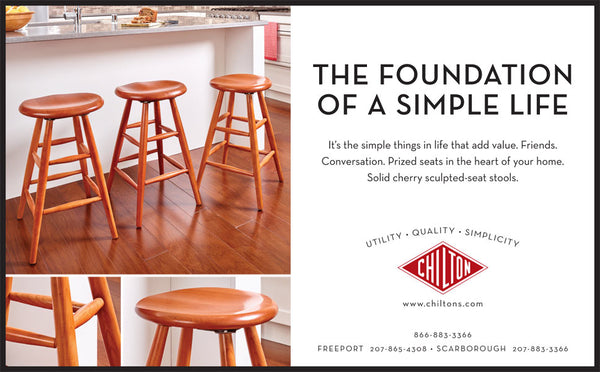 Chilton Furniture - Foundation of the Simple Life - print ad