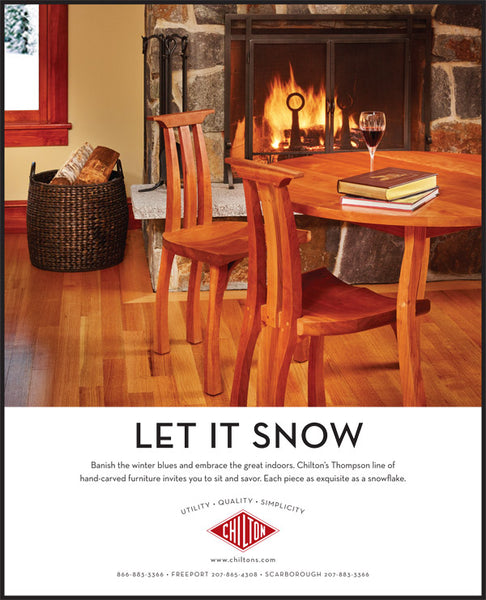 Chilton Furniture - Let it Snow - print ad