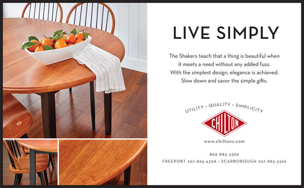 Chilton Furniture - Live Simply - print ad