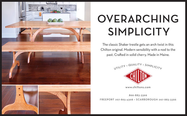 Chilton Furniture - Overarching Simplicity - print ad