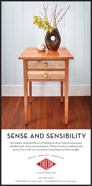 Chilton Furniture - Sense & Sensibility - print ad