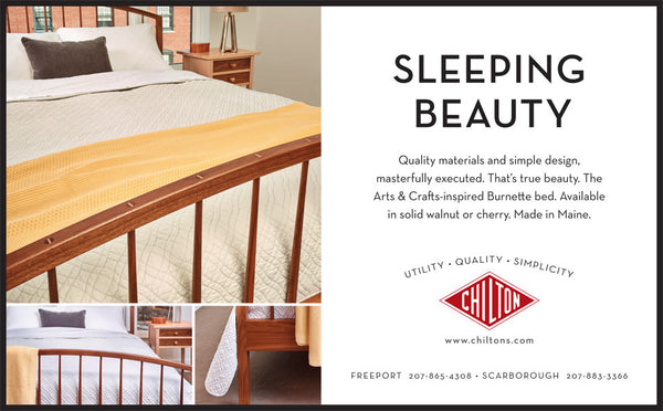 Chilton Furniture - Sleeping Beauty - print ad