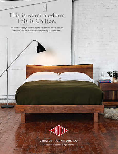 Chilton Furniture - This is warm modern.
