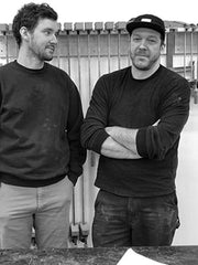Pete and Garett of Square Manufacturing Co.