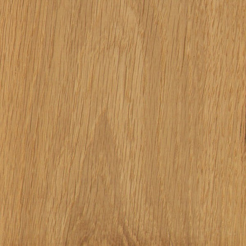 Natural white oak wood sample