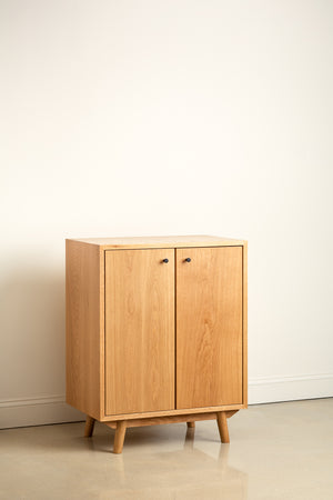 Small Fjord Sideboard in white oak from Chilton Furniture Co. in Maine