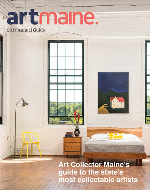 Cover of Art Maine magazine featuring Chilton Furniture's Acadia collection