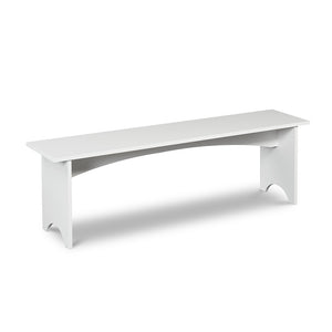 Bench in cottage white paint