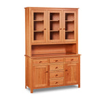 Cherry wood 3-door Shaker Hutch