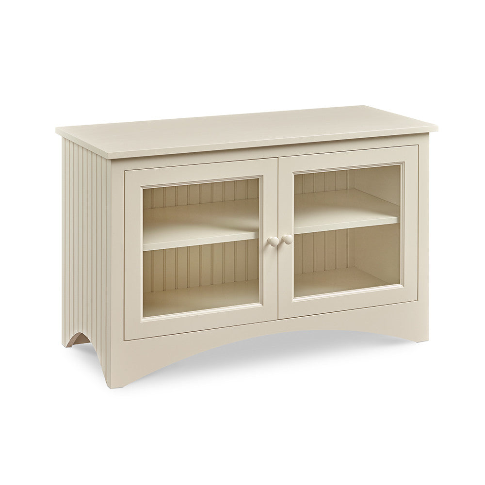 Chilton's Glass Door Media Cabinet
