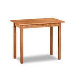 Chilton Furniture's Acadia collection cherry writing desk with one pencil drawer