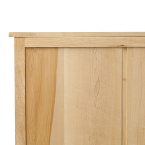 Back of maple Foundation Chest
