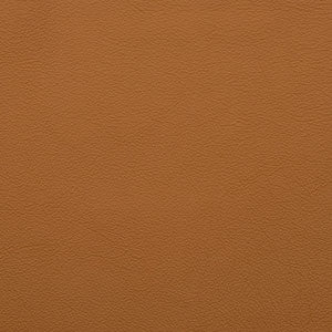 Swatch of tan toned Camel leather option for Chilton Ottoman cushion