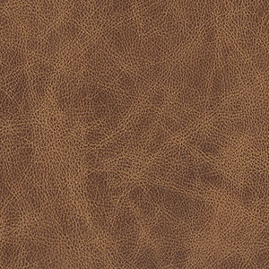 Swatch of light brown toned Whiskey leather option for Chilton Ottoman cushion