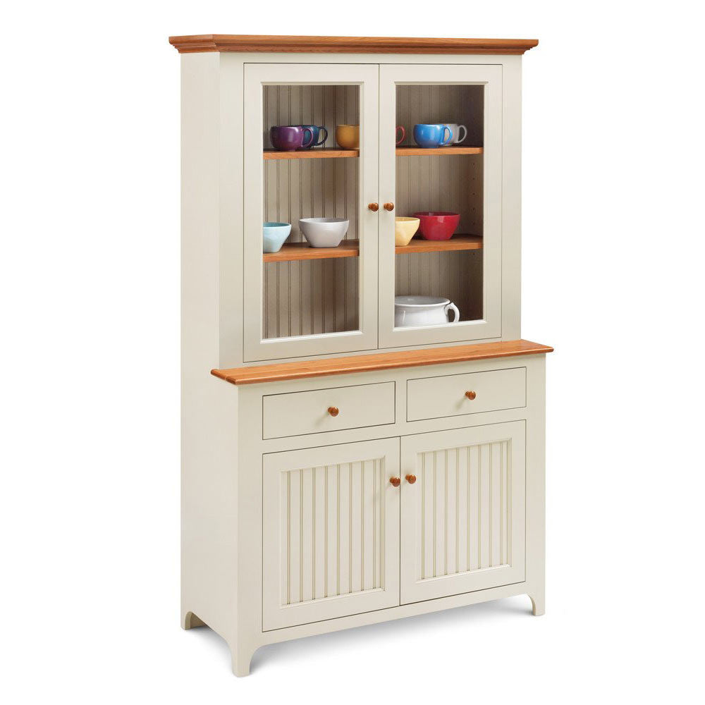 Cottage Step-Back Hutch