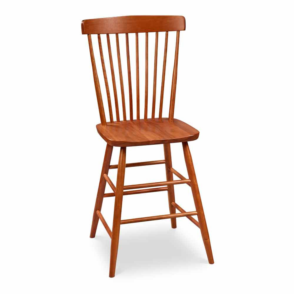 Waterford counter height stool with spindle back