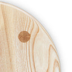 Mortise and tenon joinery on ash Round Stool seat