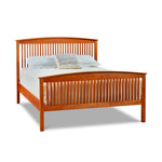 Penobscot Sunrise Arched Slat Bed