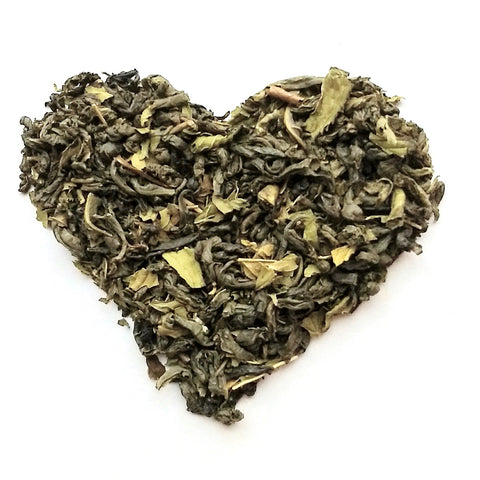 Candy Cane Lane - Loose Leaf Green Tea (30 Servings)