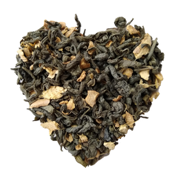 Ginger Green - Loose Leaf Green Tea