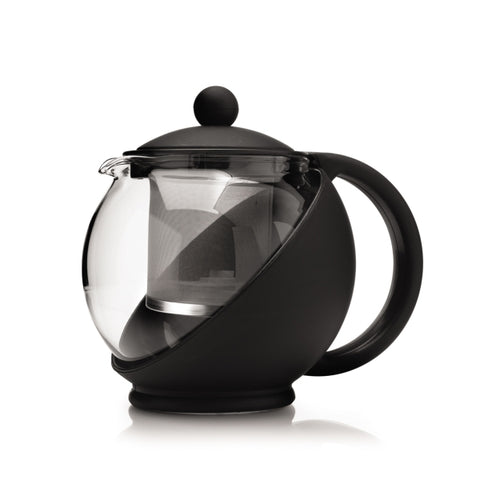 25oz Tempered Glass Teapot with Infuser