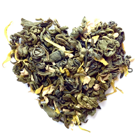 Lemon Ginger Green - Loose Leaf Green Tea (30 Servings)