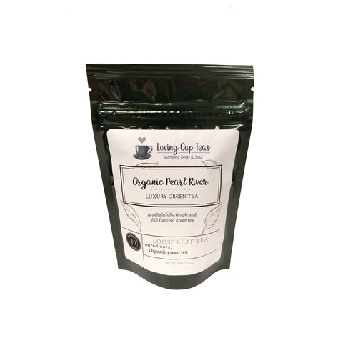 Organic Pearl River - Loose Leaf Green Tea