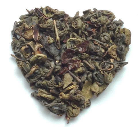 Pomegranate Hibiscus - Loose Leaf Green Tea