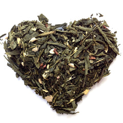 Raspberry Ginger - Loose Leaf Green Tea (30 Servings)