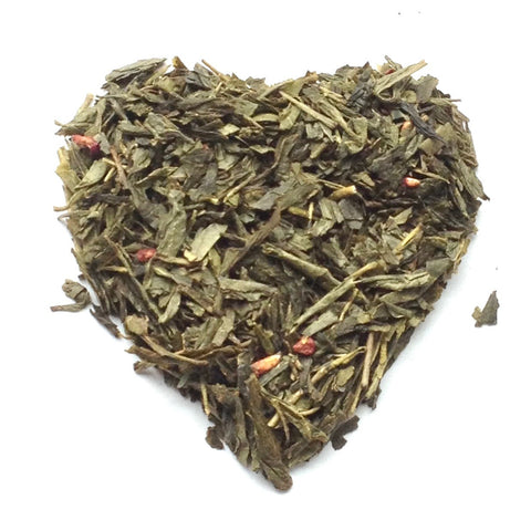 Raspberry - Loose Leaf Green Tea (30 Servings)