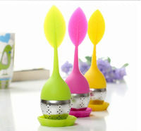 Adorable Silicone Leaf Infuser