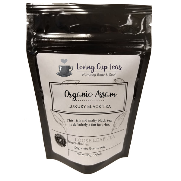 Organic Assam - Loose Leaf Black Tea