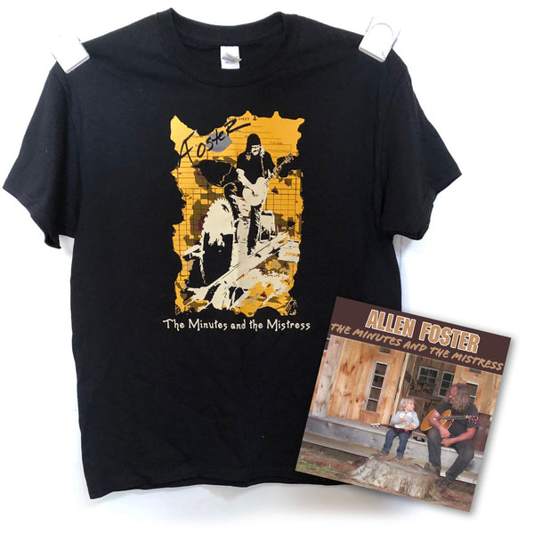 BUNDLE - CD & T-Shirt (LARGE only)