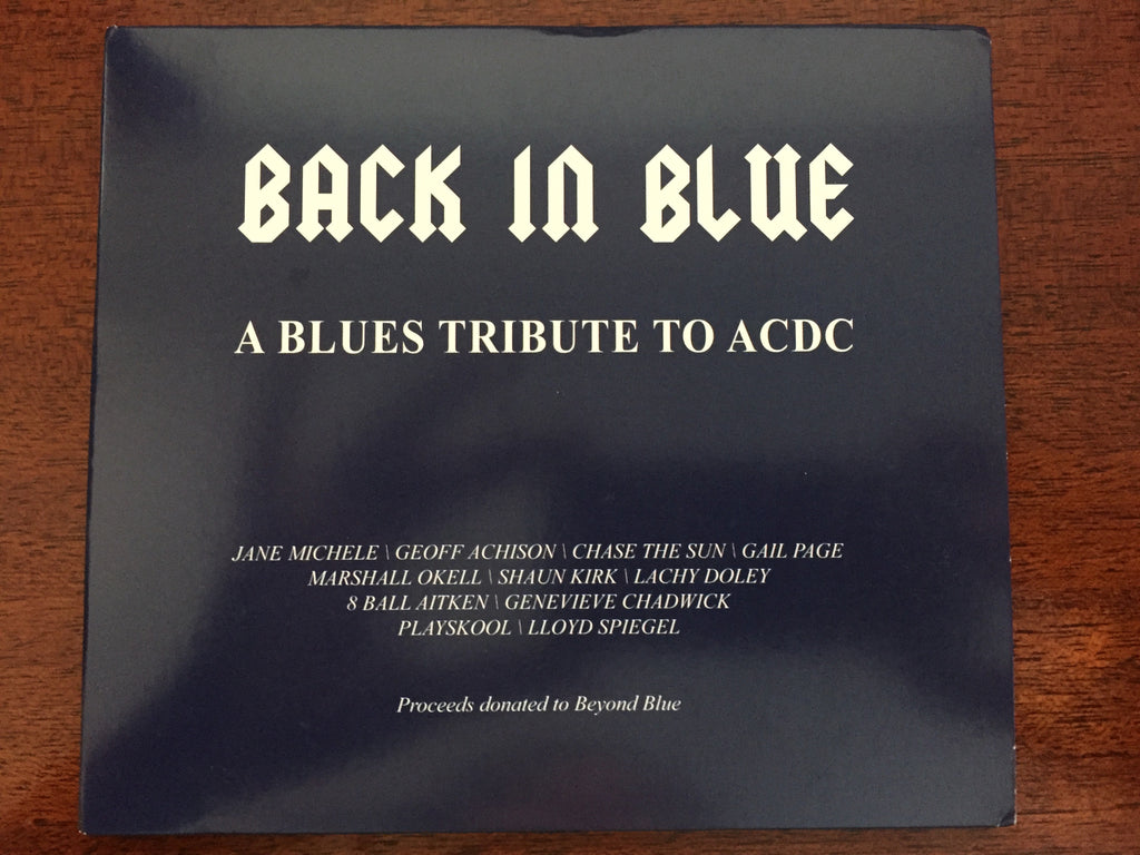 Back In Blue - Physical CD