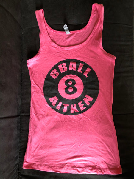 Women's Red 8 Ball Tank-top