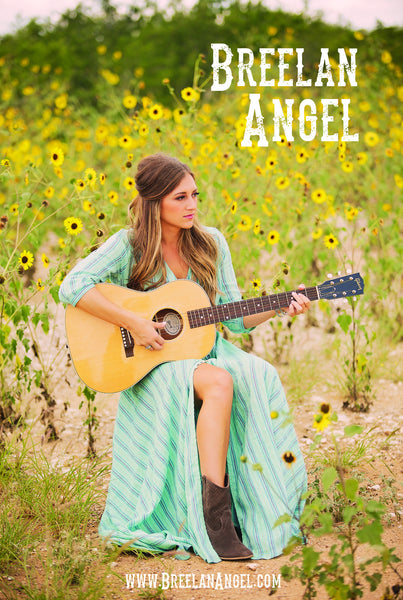 Breelan Angel Autographed Poster